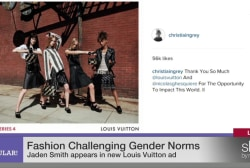 Jaden Smith's Louis Vuitton ad & gender norms
