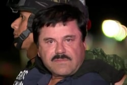"""El Chapo"" recaptured in gun battle"