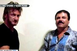 Actor Sean Penn meets secretly with 'El...