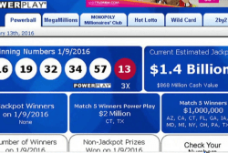 Powerball jackpot swells to $1.4 Billion