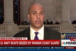 Sen. Booker on Pres. Obama's last SOTU