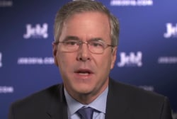 Jeb Bush on how he's connecting in Iowa