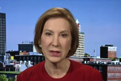 Carly Fiorina says GOP debate was a 'nasty...