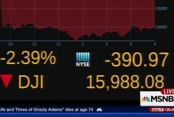 US oil closes below $30 a barrel
