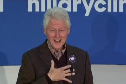 Bill Clinton shares memory of meeting Hillary