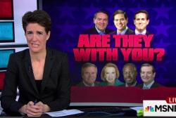 Radical pastor names GOP candidates as guests