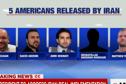 White House: Prisoners have not yet left Iran