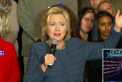 Hillary Clinton calls for new sanctions on...