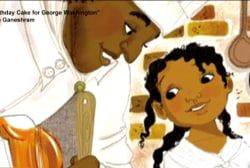 Children's book twists history