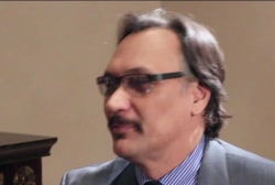 Actor Jimmy Smits receives Ackerman...