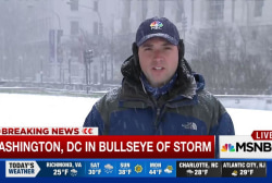 DC could see worst snow since 1920