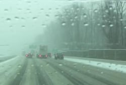 NBC tests driving conditions in Virginia