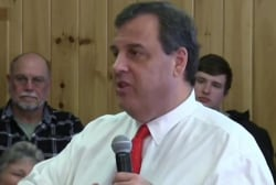 The politics of storms: Christie leaves NH