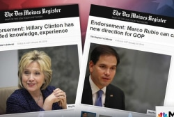 Des Moines Register gives key political...