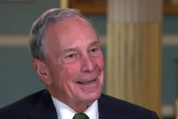 Bloomberg Eyes Independent Run