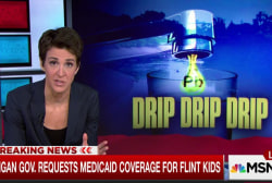 Snyder asks feds to cover Flint kids' health