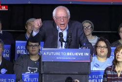 Sanders Going Negative?