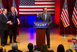 Santorum talks PTSD at Trump's veteran event