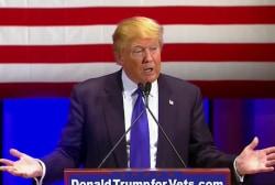 Trump claims he raised $6M for veterans