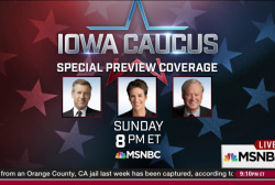 Special Iowa Caucus Preview, Sunday 8-10pm ET