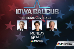Iowa caucus special coverage starts at 6pm ET