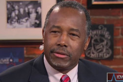 Carson to voters: 'Listen to your heart'