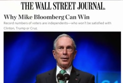 Can Bloomberg win as an Independent?