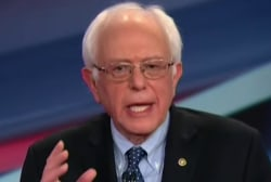 Sanders, Clinton spar over progressive label