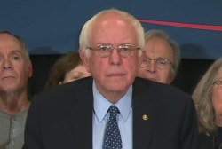 Sanders leads Clinton in NBC NH poll
