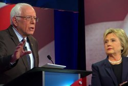Sanders, Clinton discuss being progressives