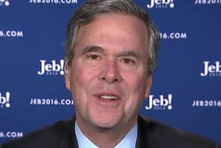 Jeb slams Rubio: A great guy but not a leader
