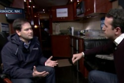 NBC News one-on-one with Marco Rubio