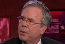 Bush: I'm growing as a candidate