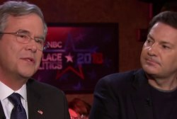 Trump's just a real estate guy, says Jeb