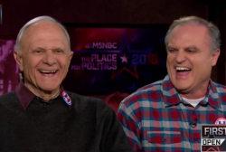 Father and Son Former Senators Back Clinton