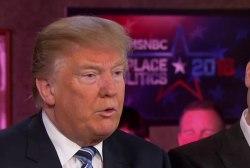 Trump on adult language: We were having fun
