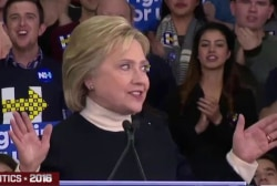 Clinton's NH lesson: Hone in on select issues