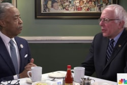 Rev. Sharpton interviews Sanders
