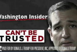 Trump pulls Cruz attack ad in South Carolina