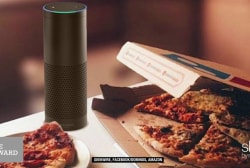 Amazon Echo now allows pizza orders