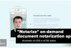 You can now notarize docs with an app