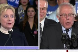 Clinton, Sanders Clash Ahead of Debate