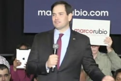 Rubio tries to bounce back in SC debate