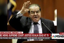 Scalia a jurist but also conservative hero