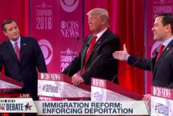 Cruz, Rubio battle at Republican debate
