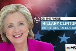 Hillary Clinton on Antonin Scalia, Roe v....