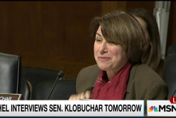 Eminently qualified Sen Klobuchar, Tuesday!