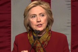 Clinton: 'The President has the right to...
