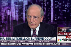 Fmr. Sen. George Mitchell on Supreme Court
