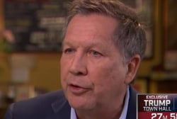 How would Kasich fight the ISIS threat?